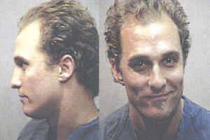 Matthew McConaughey Mugshot