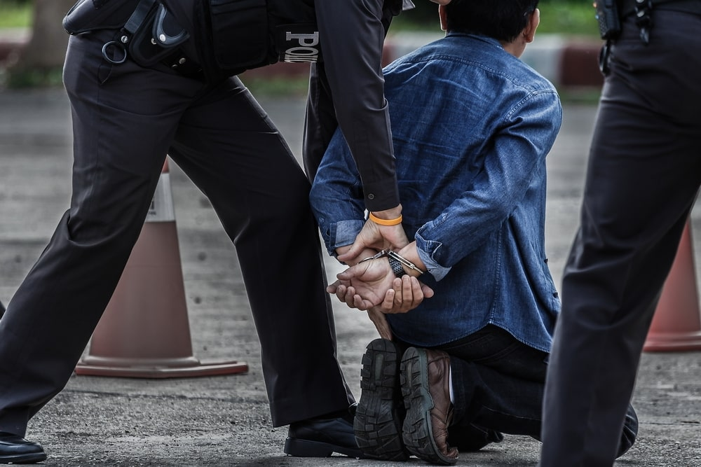 arrest people by bad apple